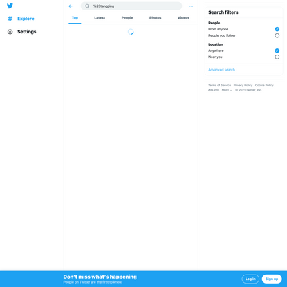 #tangping - Twitter Search / Twitter