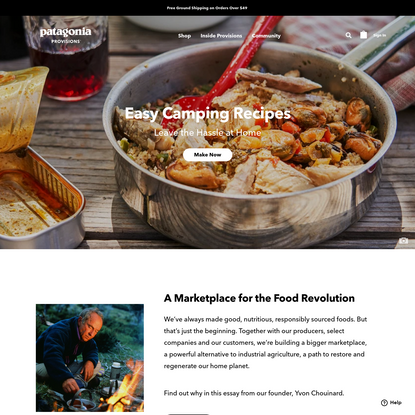 Delicious, Sustainable Food & Recipes