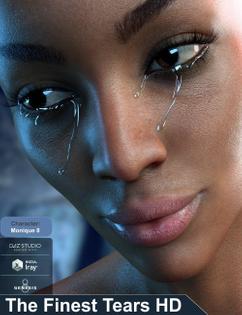 """""""AlFan, The Finest Tears HD for Genesis 8 Female(s). Source: Daz3D."""""""