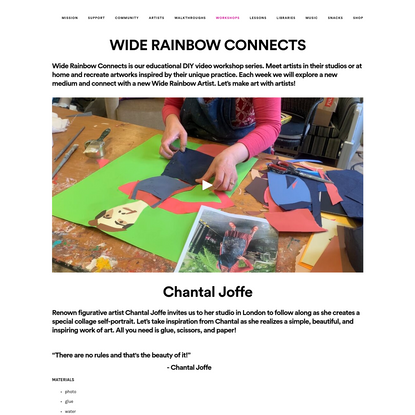 Wide Rainbow - Connects