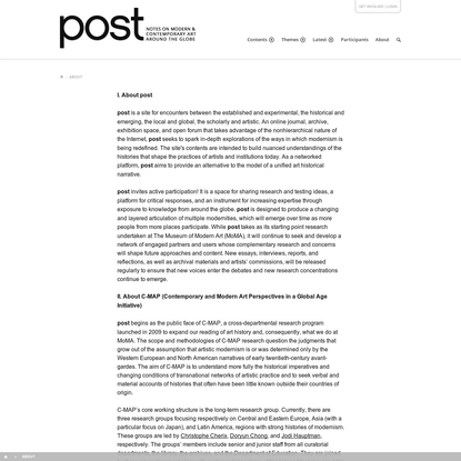 About | post