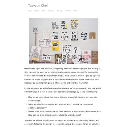 Taeyoon Choi