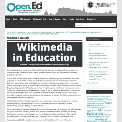 Wikimedia in Education