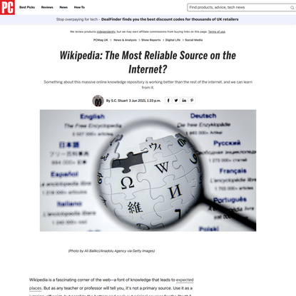 Wikipedia: The Most Reliable Source on the Internet?