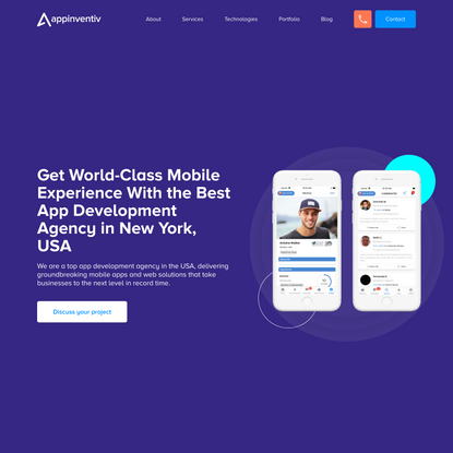 Top Mobile App Development Company, USA   Best Mobile Application development services, USA