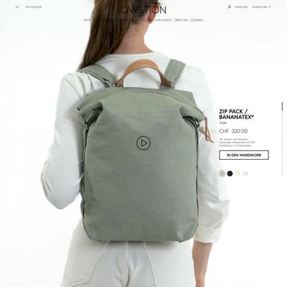Zip Pack / Bananatex® — QWSTION