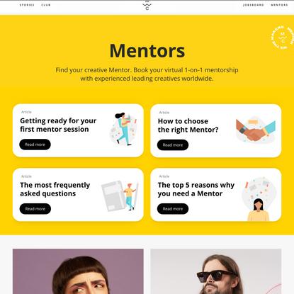 Mentors – We the Makers Club