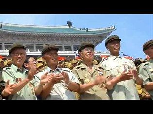 I put the Cha-Cha Slide over a North Korean Military Parade