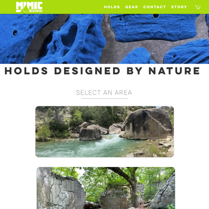 Designed by Nature   Mimic Holds