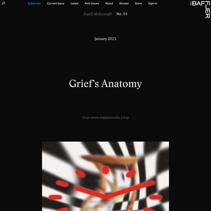 Grief's Anatomy | Hanif Abdurraqib