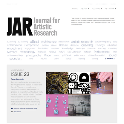 Front page | JAR