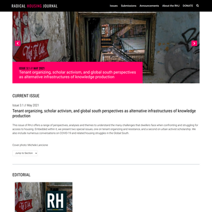 Home » Radical Housing Journal %