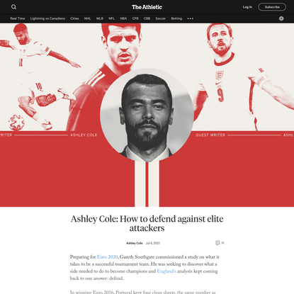 Ashley Cole: How to defend against elite attackers