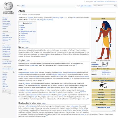 Atum - Wikipedia