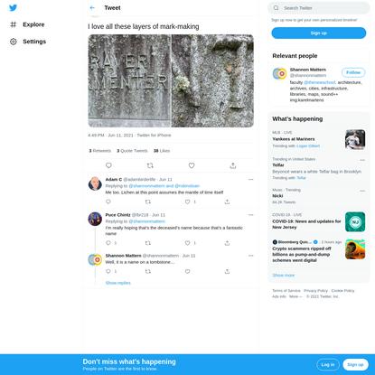 "Shannon Mattern on Twitter: ""I love all these layers of mark-making pic.twitter.com/mixBZQ7Qln / Twitter"""