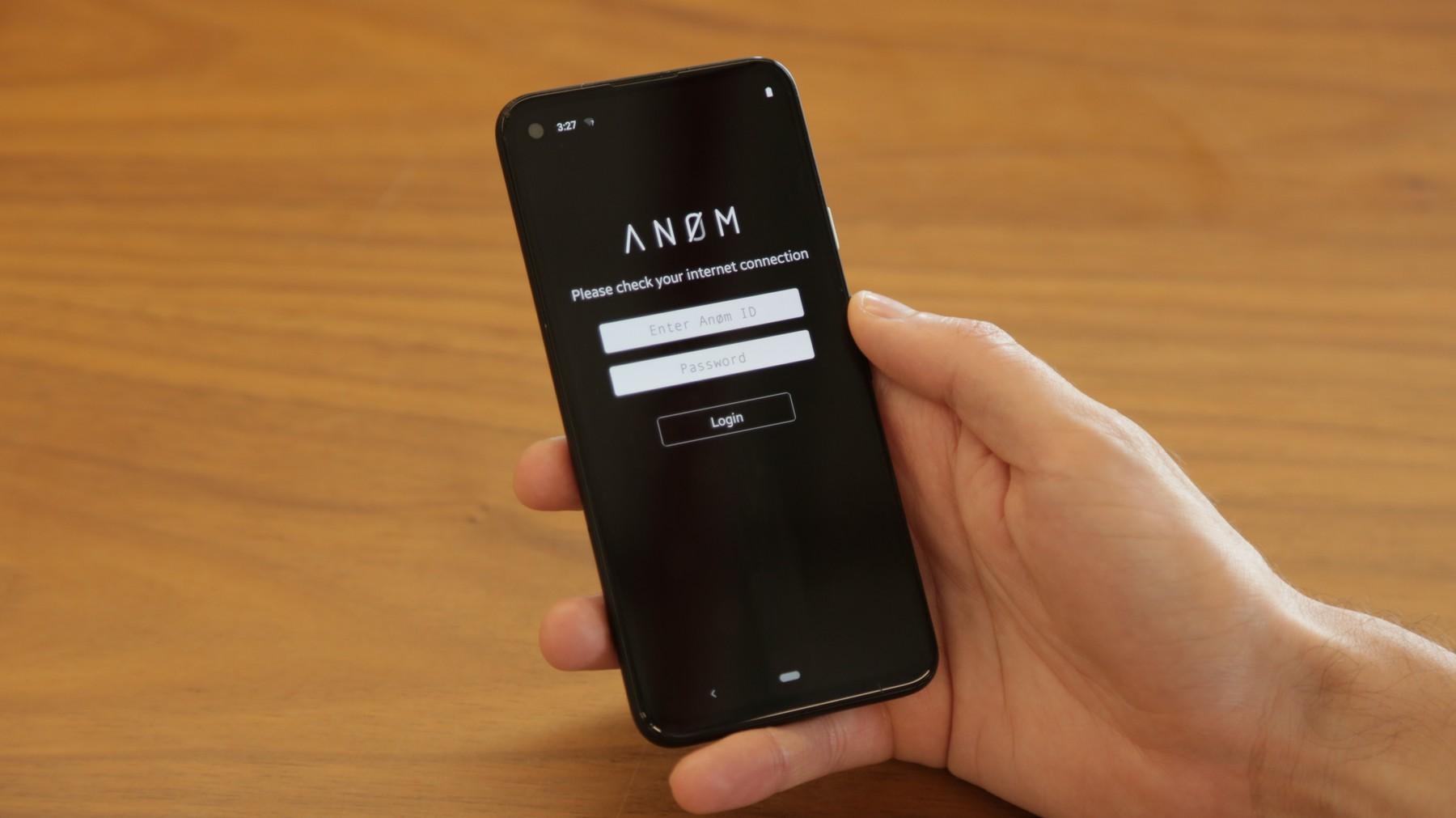 ANØM - FBI backdoored chat app