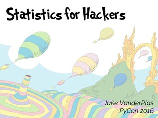 Jake Vanderplas - Statistics for Hackers