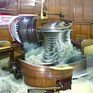 """churning machine"" [OC] VQGAN+CLIP experiment"