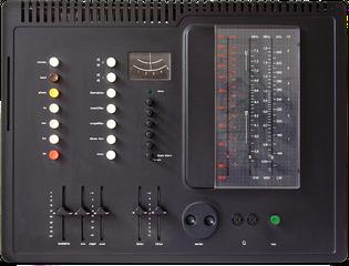 Braun Regie 308 control unit, 1973, Dieter Rams