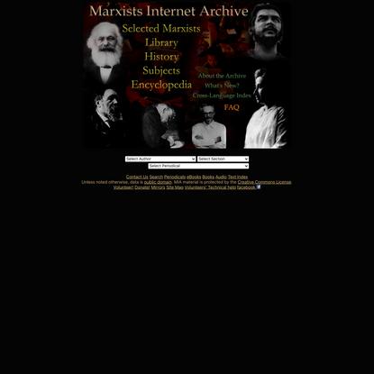 Marxists Internet Archive