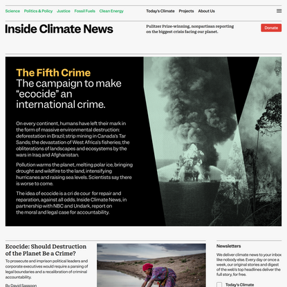 The Fifth Crime - Inside Climate News