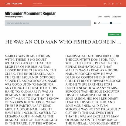 Allrounder Monument Regular
