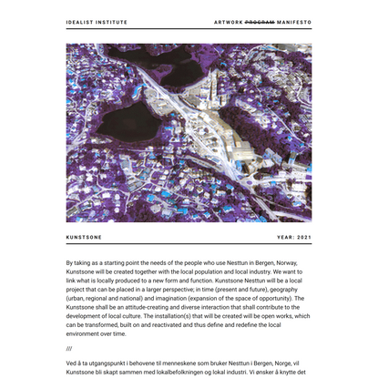 idealist institute | Kunstsone