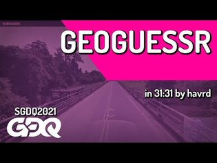 GeoGuessr by havrd in 31:31 - Summer Games Done Quick 2021 Online