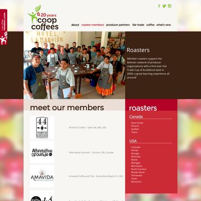 meet our members | Coop coffees