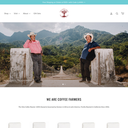 Pachamama Organic Coffee Subscriptions | 100% Farmer Owned Cooperative