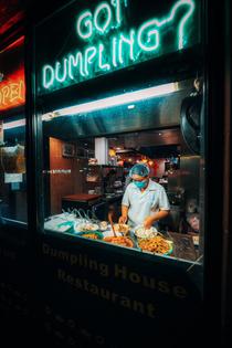 Neon in Toronto's Chinatown