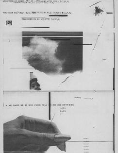 William Larson, Untitled, Fireflies series (1974)