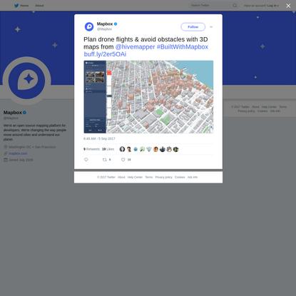 Mapbox on Twitter