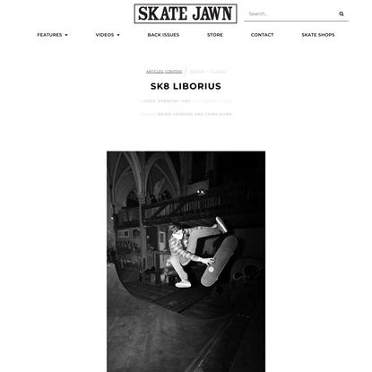 Sk8 Liborius — gothic church turned skatepark
