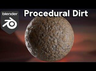 Procedural Dirt Material (Blender Tutorial)