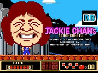 1990 [60fps] NES Jackie Chan's Action Kung Fu ALL