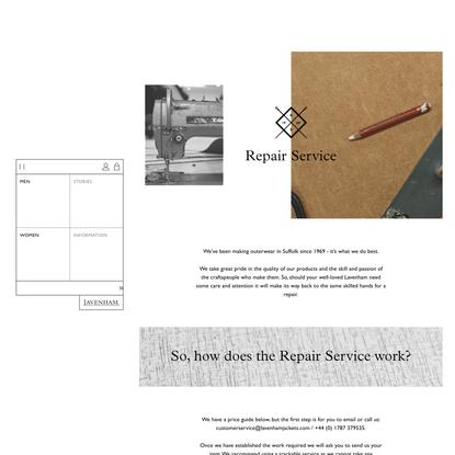 Repair Service - Lavenham