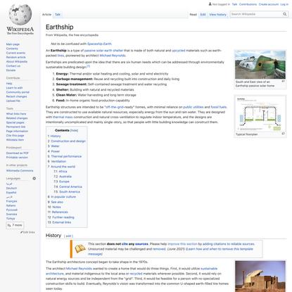 Earthship - Wikipedia