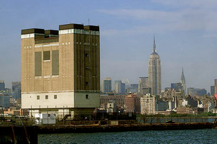 Holland Tunnel exhaust tower