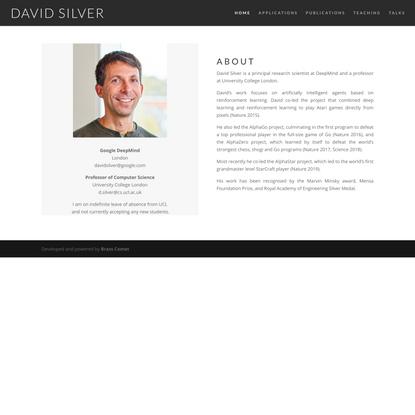 Home - David Silver