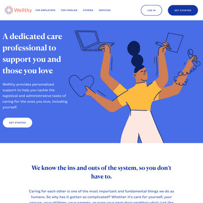 Wellthy is changing the way families experience care | Wellthy