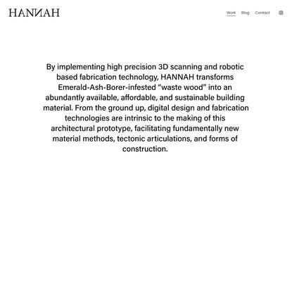 Ashen — HANNAH