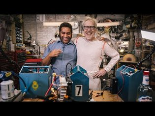 Adam Savage's One Day Builds: Refrigerated Cooling Suit!