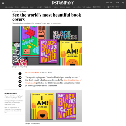 See the world's most beautiful book covers