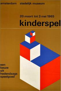 Kinderspel poster by Wim Crouwel
