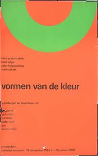 Vormen Van de Kleur poster by Wim Crouwel