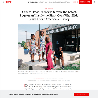 Inside the Fight Over What Kids Learn About America's History