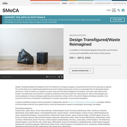 Design Transfigured/Waste Reimagined