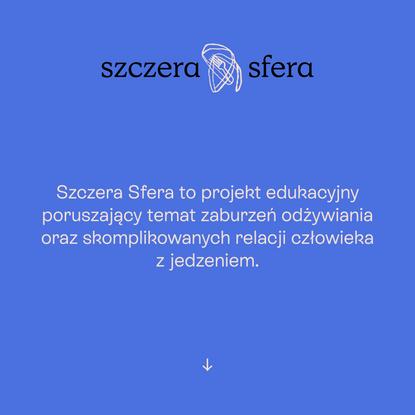 Strona Glowna - Szczera Sfera