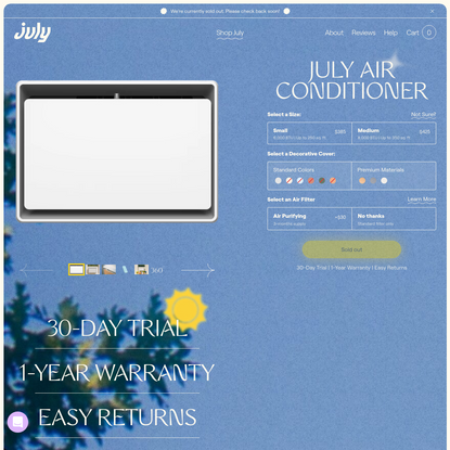 July Air Conditioner